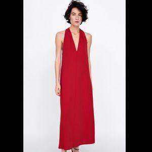 Zara halter neck dress NWOT